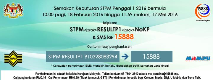 Keputusan STPM Penggal 1