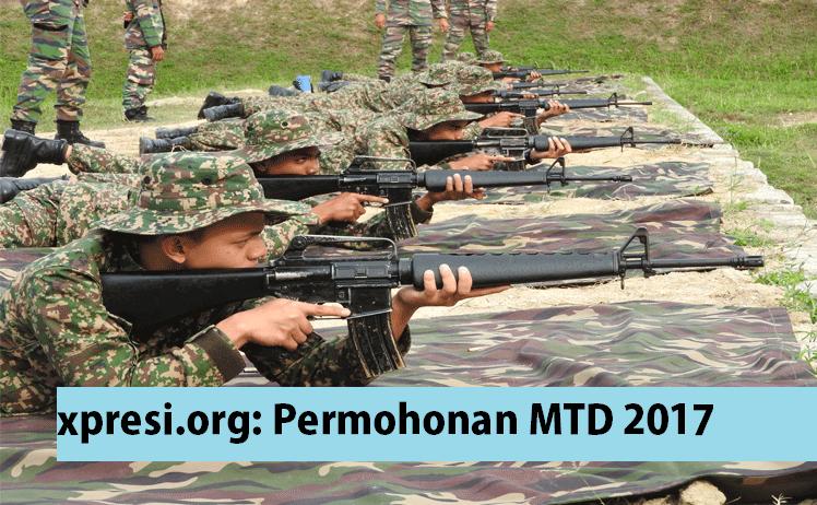 Permohonan Maktab Tentera Diraja MTD 2017