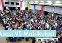 Matrikulasi vs Asasi