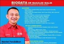 Biodata Dr Maszlee Malik
