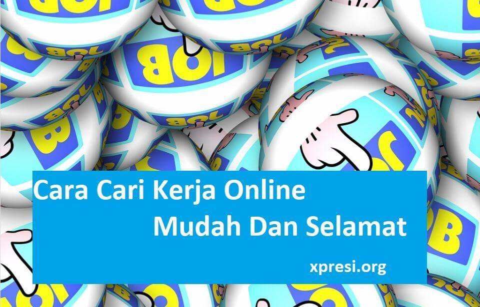 Cara Cari Kerja Online