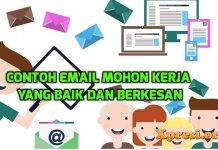 Contoh email mohon kerja