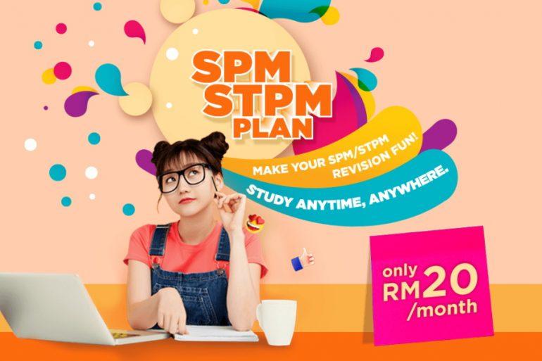 Tawaran Pelan Internet SPM / STPM 15GB RM20/bulan